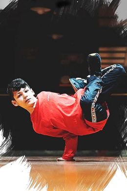 lucky bboy breakdance